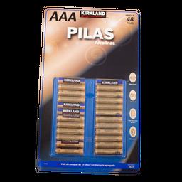 Batería Alcalina Kirkland Signature AAA 48 U