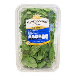 Earthbound Espinaca baby orgánica