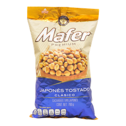 Cacahuate Japonés Mafer 790 g