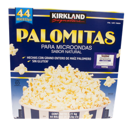 Palomitas Microondas  Kirkland Signature Naturales 44 U
