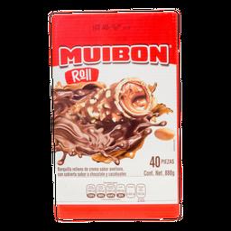 Dulce Mui-Bon Barquillo Con Chocolate 40 U