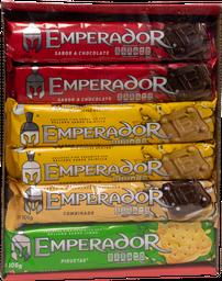Galletas Emperador Surtidas Pack 105 g x 12 U