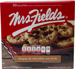 Galletas Con Chispas De Chocolate Mrs. Fields 1.19  Kg