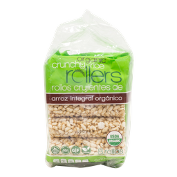 Barra de Arroz Crunchy Rollers 8 U 100 g