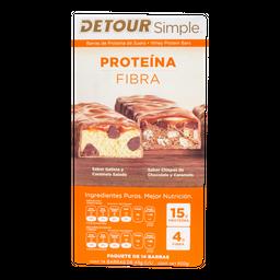 Barra Detour de Proteína Choco-Cacahuate 43 g x 14