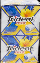 Chicle Twist/Splash Menta 10 U Trident