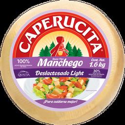 Queso Manchego Deslactosado Caperucita  1.6 Kg