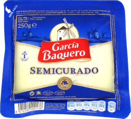 Queso Semicurado Garcia Baquero 250 g