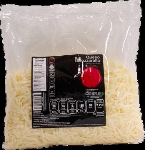 Mozzarella Rallado 907 g Natural & Kosher