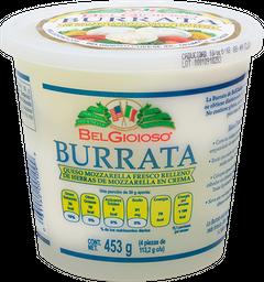 Queso Burrata Belgioioso 453 g