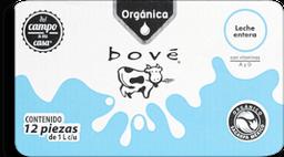 Leche Entera Organica de 1 L Bove 12 U