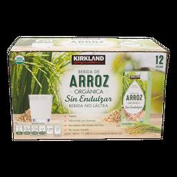 Bebida De Arroz Organica de 946 mL Kirkland Signature 12 U