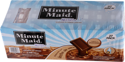 Leche Sabor Chocolate de 200 mL Minute Maid 27 U