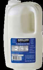 Leche Semidescremada 2% 3.78 L Kirkland Signature