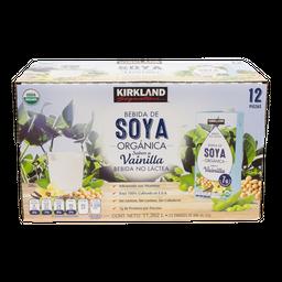 Kirkland Bebida de Soya Vainilla Organica Signature