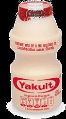 Producto Lacteo Fermentado 80 mL Yakult 25 U