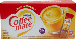 Sustituto De Crema de 4 g Coffee Mate Porcionado 200 U