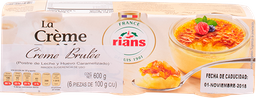 Creme Brulee Rians 100 g x 6