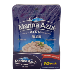 Atun Marina Azul en Agua 74 g x 10