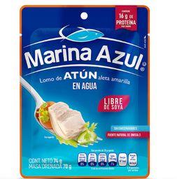 Atún en Agua Marina Azul 10 paquetes de 74 gr