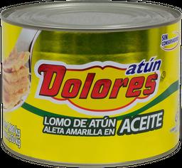 Lomo de Atún Dolores Aleta Amarilla en Aceite 1.380 Kg