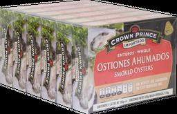 Ostiones Ahumados 106 g Crown Prince 6 U