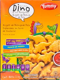 Nuggets de Pollo Dino Yummy 2 Kg
