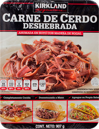 Carne de Cerdo Kirkland Signature Deshebrada 907 g