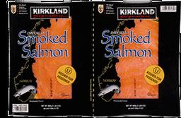 Salmón Kirkland Signature Ahumado 340 g x 2 U