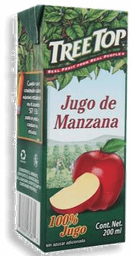 Jugo De Manzana de 200 mL Tree Top 20 U
