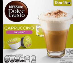 Capsulas Sabor Cappuccino Light 32 Tazas Nescaf  Dolce Gusto