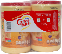Sustituto De Crema de 1.4 Kg Coffee Mate 2 U