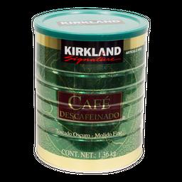 Café Molido DesCaféinado Kirkland Signature 1.36 Kg