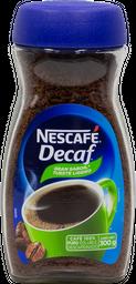 Café Soluble 300 g Nestle Decaf