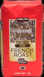 Café Kirkland Signature French Roast en Grano 1 Kg