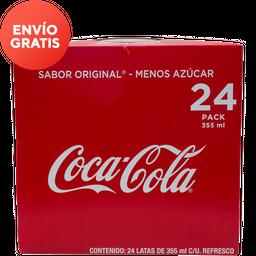 Refresco Coca Cola 24Pack 355 ml c/u