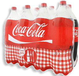 Refresco Light de 2 L Coca Cola 2 U