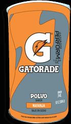 Gatorade En Polvo Sabor Naranja 2.38 Kg