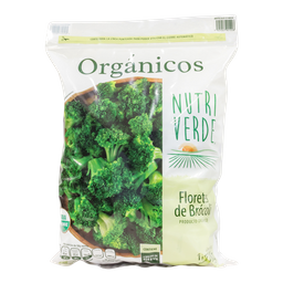 Brócoli NutriVerde Floretes 1.81 Kg