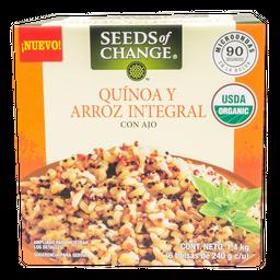 Arroz Seeds Of Change Integral Orgánico Cocido 240 g X 6