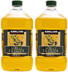Aceite de Oliva Kirkland Signature 3 L x 2