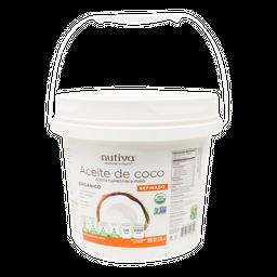 Aceite de Coco Nutiva Refinado Orgánico 3.79 L