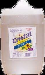 Aceite Cristal Vegetal 20 L