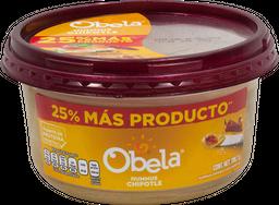 Hummus Con Chipotle 710 g Obela