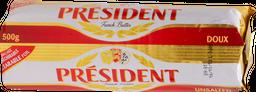 Mantequilla Président Doux Sin Sal 500 g