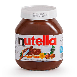 Crema de Avellana Nutella 750 g