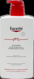 Crema Liquida Corporal Eucerin Ph5 1 L