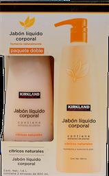 Jabón Líquido Para Cuerpo Kirkland Signature 800 mL X 2
