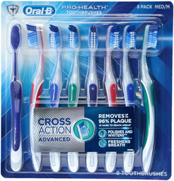 Cepillo Dental Cross Action Advanced Oral-B 8 U