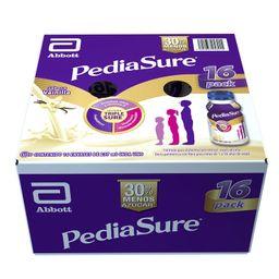 Pediasure Plus Suplemento Alimenticio  Vainilla 237 mL x 16
